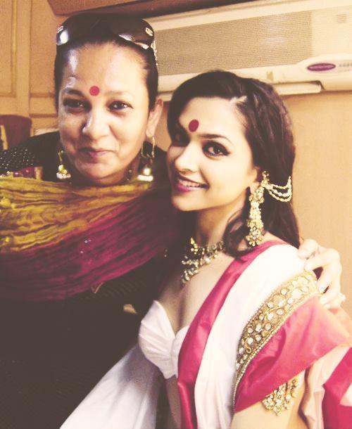 Deepika Looks Like Paro In Devdas  On Her Upcoming Movie Ram Leela