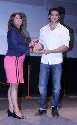 Hrithik Roshan And Meghna Posed At Whistling Woods