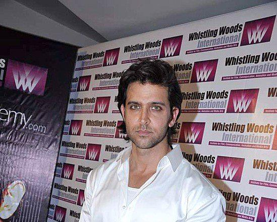 Hrithik Roshan Clicked At Whistling Woods