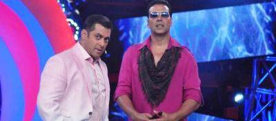 Akshay And Salman On Bigg Boss 6 For Promoting Khiladi 786