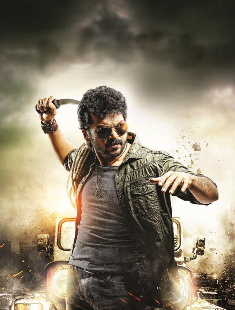 Karthik In Action Photo From Bad Boy Movie First Look Poster