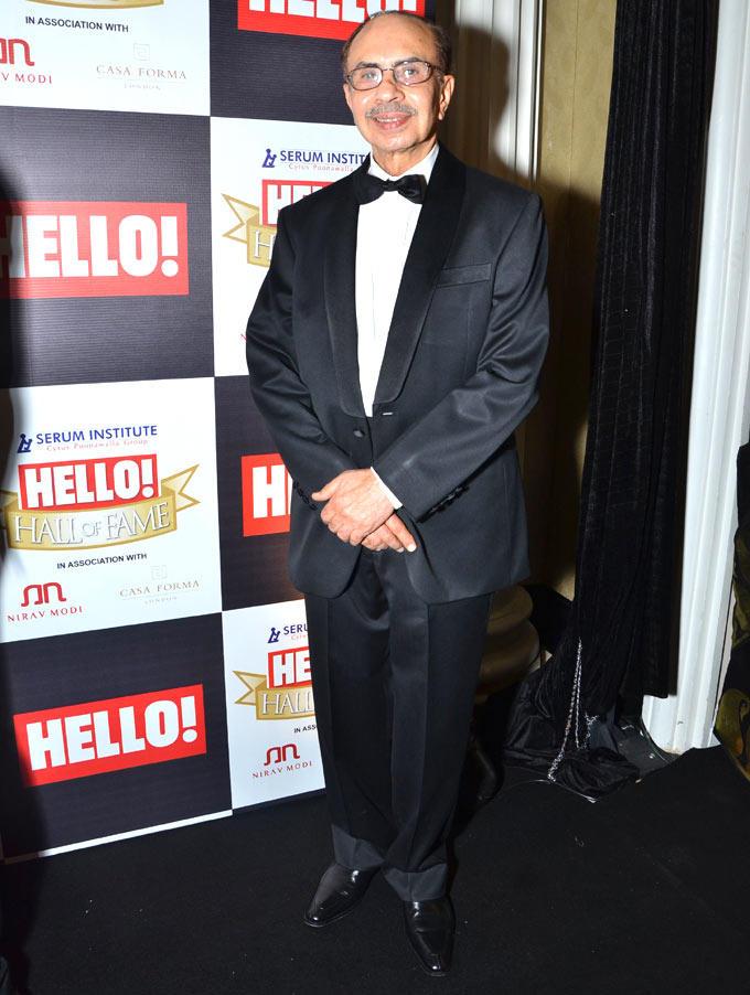 Adi Godrej Make An Appearance At Hello Hall Of Fame Awards 2012