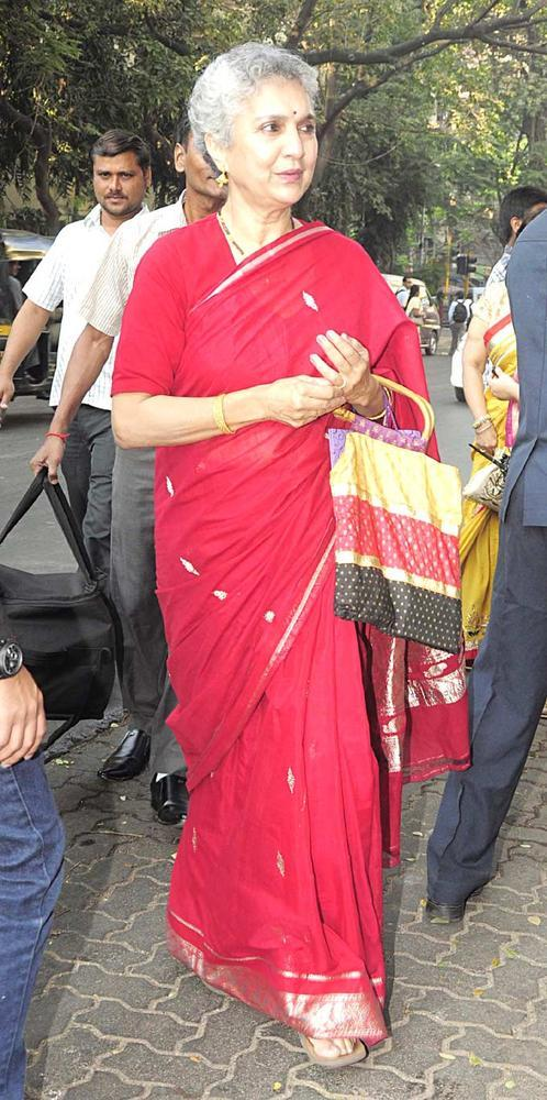 Salome Roy Kapur Mother Of Siddharth At Siddharth And Vidya Wedding Ceremony