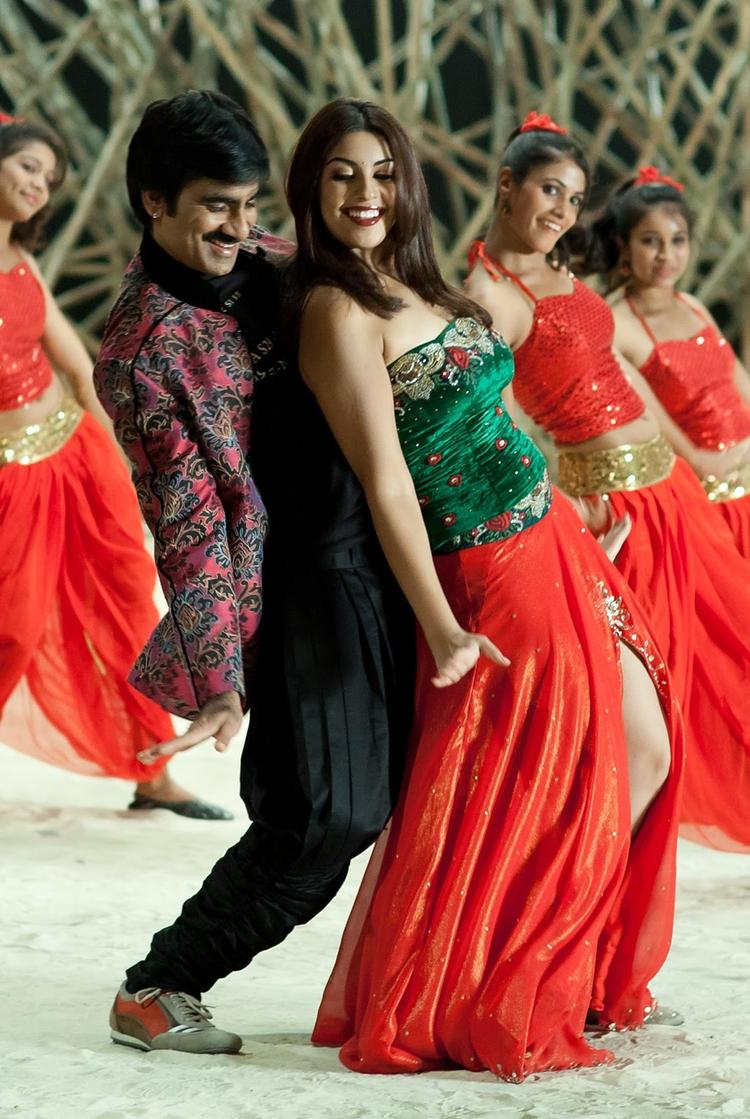 Ravi And Richa Hot Dancing Still From Sarocharu Movie