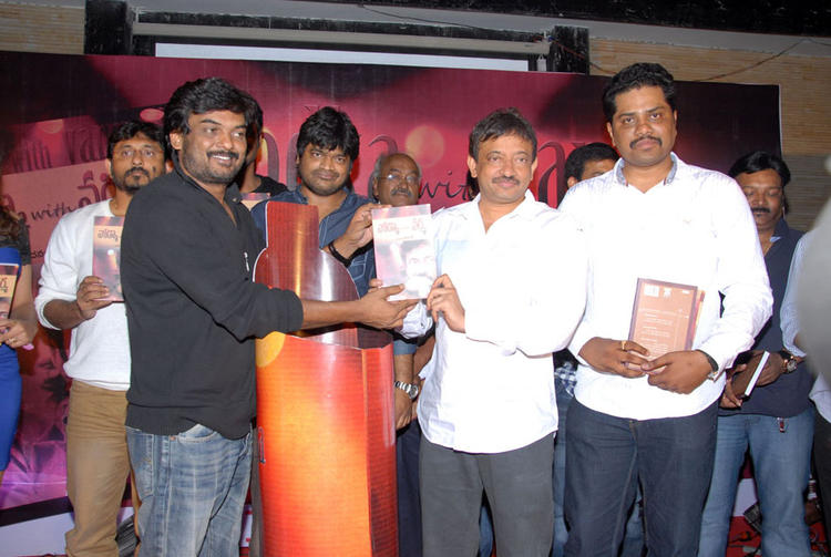 Puri Jagannath,RGV And Harish Show The Book At Vodka With Varma Book Launch