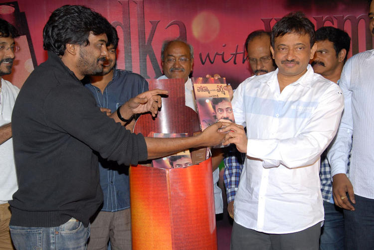 Ram Gopal Varma And Puri Jagannath Launch At Vodka With Varma Book Launch Event