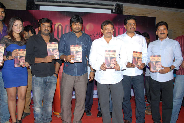 Ram,Harish,Puri Jagannath And Madhu Unveils At Vodka With Varma Book Launch
