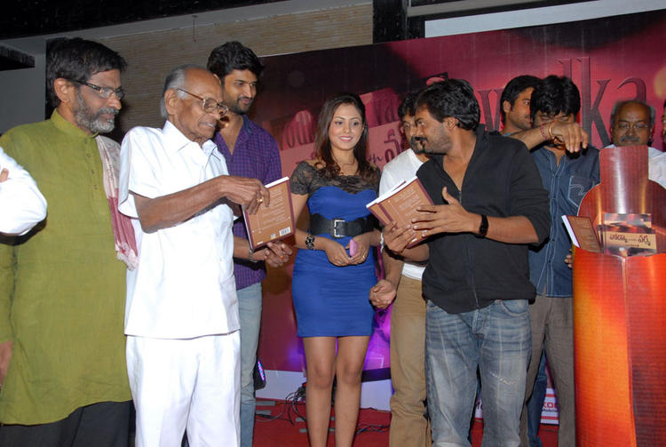 Ram,Puri Jagannath And Madhu Cool Pose At Vodka With Varma Book Launch