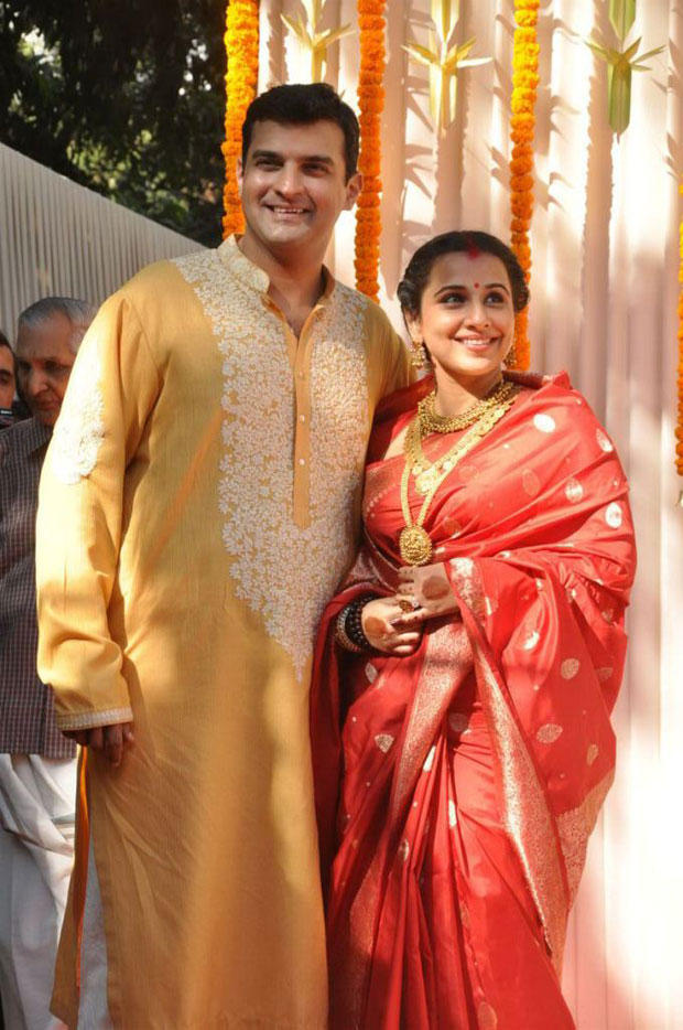 Vidya And Siddharth Nice Pose At Their Wedding Ceremony