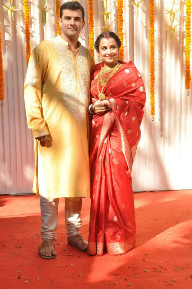 Vidya And Siddharth At Their Wedding Ceremony