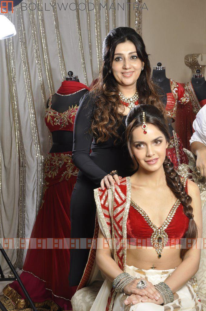 Shazahn In Bridal Dress With Archan Photo Shoot By Luv Israni