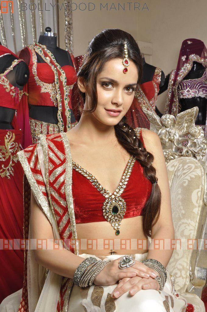 Shazahn Gorgeous Look In A Bridal Dress For Luv Israni's Photo Shoot