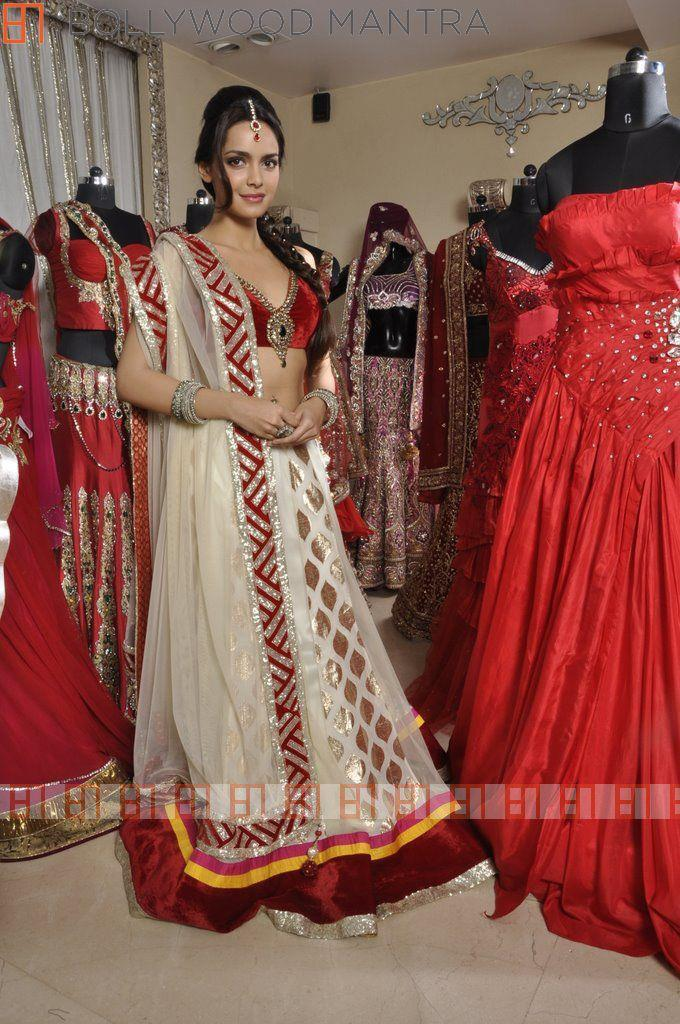 Shazahn Padamsee In Designer Archan Bridal Outfit For Luv Israni's Photo Shoot