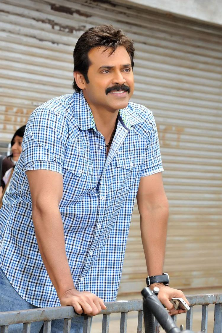 Venkatesh Dashing Look Photo From Telugu Movie SVSC