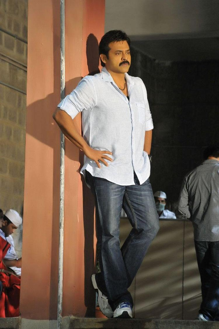 Venkatesh Latest Still From Telugu Movie SVSC