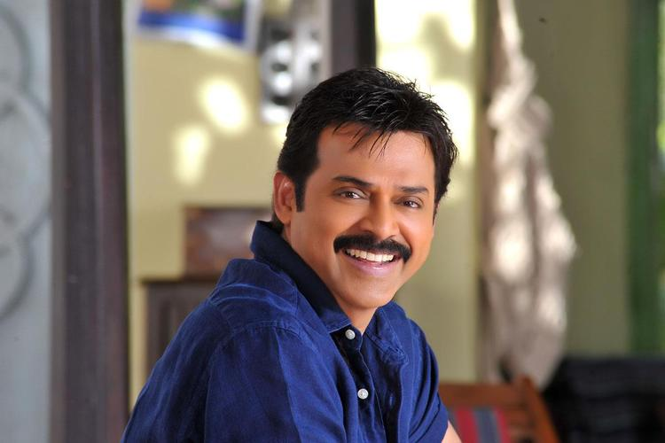 Venkatesh Nice Look Photo From Telugu Movie SVSC