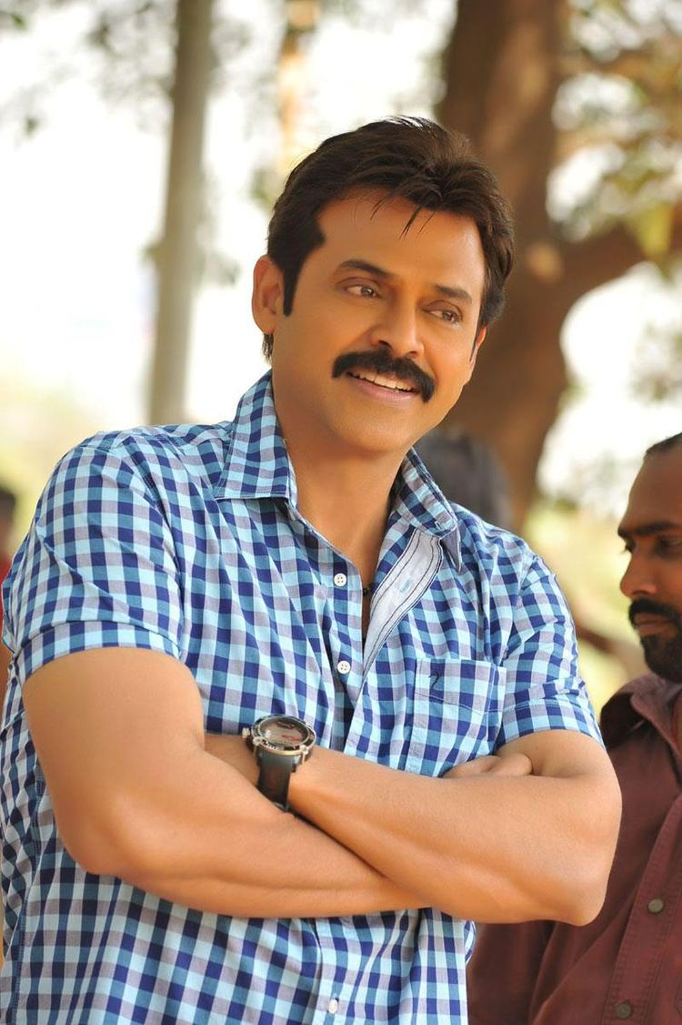 Venkatesh Superb Look Still From Telugu Movie SVSC