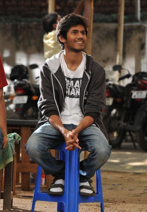 Kaushik Darbha Nice Smiling Face Photo From Movie Life Is Beautiful