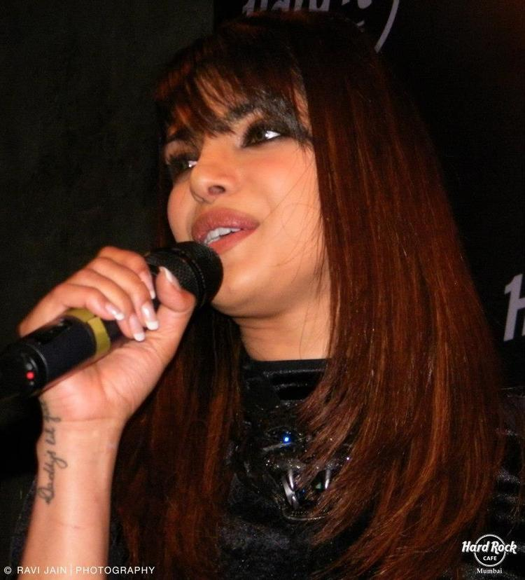 Priyanka Dazzles At Ghost Club For Promote Her First Single In My City