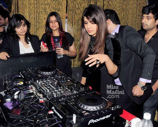 Priyanka Spotted At Ghost Club For Promote Her First Single In My City