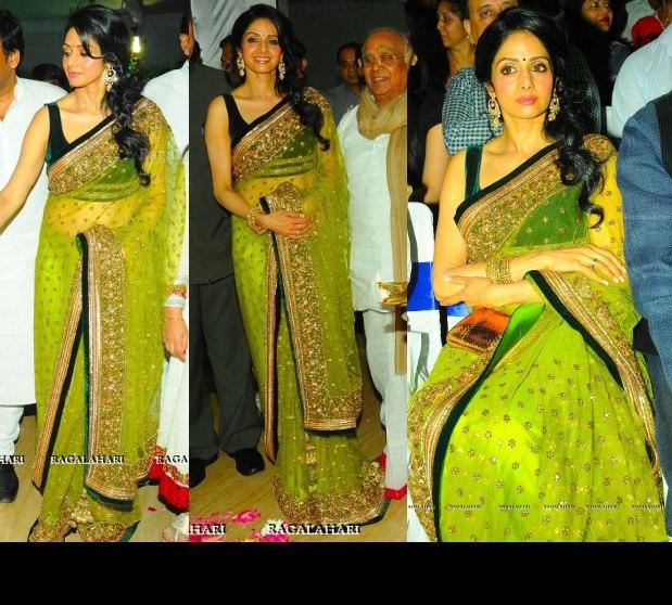 Sridevi At The Inauguration Of The INOX Theater