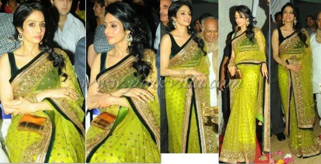 Sridevi Kapoor Spotted At The Inauguration Of The INOX Theater