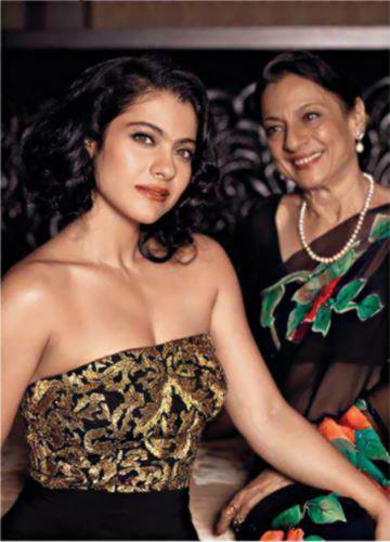 Mother-Daughter Duo Tanuja And Kajol Photo Shoot For India Today