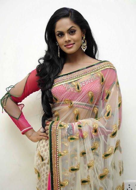 Karthika Nair Latest Photo Shoot In Transparent Saree