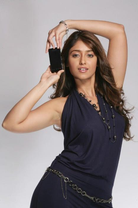 Ileana D'cruz Cute Look Photo In Black Dress For Mbl Ads