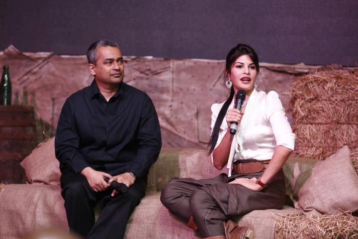 Jacqueline And Akram Snapped At The Launch Of Perpetual Grace