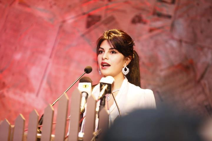 Jacqueline Speak Out  At The Launch Of Perpetual Grace By Colombo Jeweller