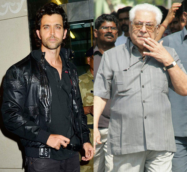 Hrithik Roshan And Basu Chatterjee Celebrated Their Birthday On January 10