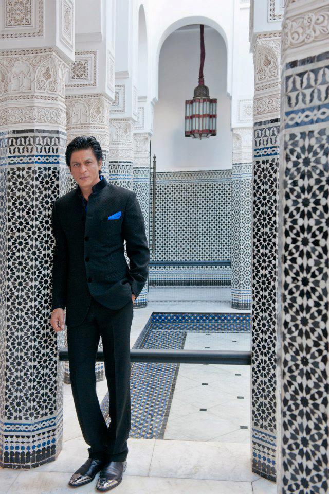 SRK Stylish Look Photo Shoot At Marrakech International Film Festival