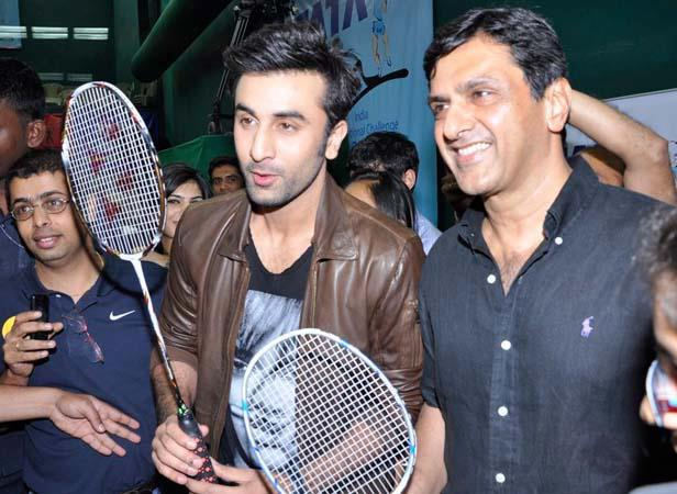 Ranbir And Prakash Photo Clicked At Tata Open Championship