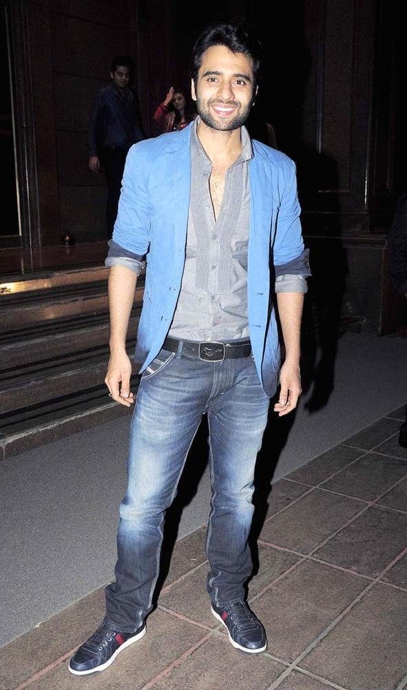 Jackky Bhagnani Flashes Smile At Abhinav And Ashima Shukla Wedding Reception