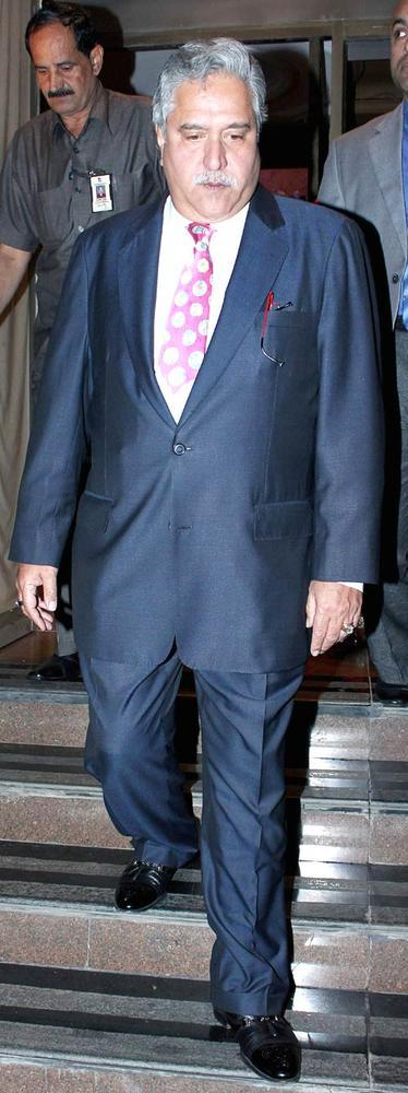Vijay Mallya Snapped At Abhinav And Ashima Shukla Wedding Reception
