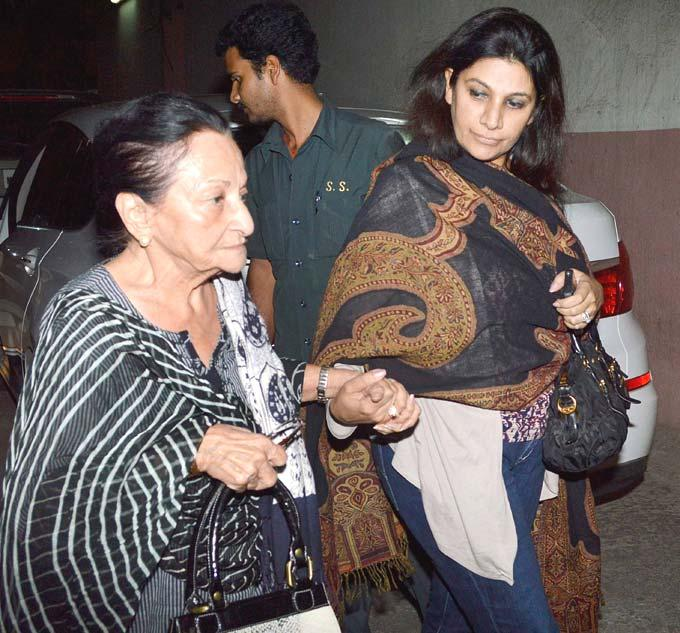 Guests Are Attend The Dabangg 2 Screening Event