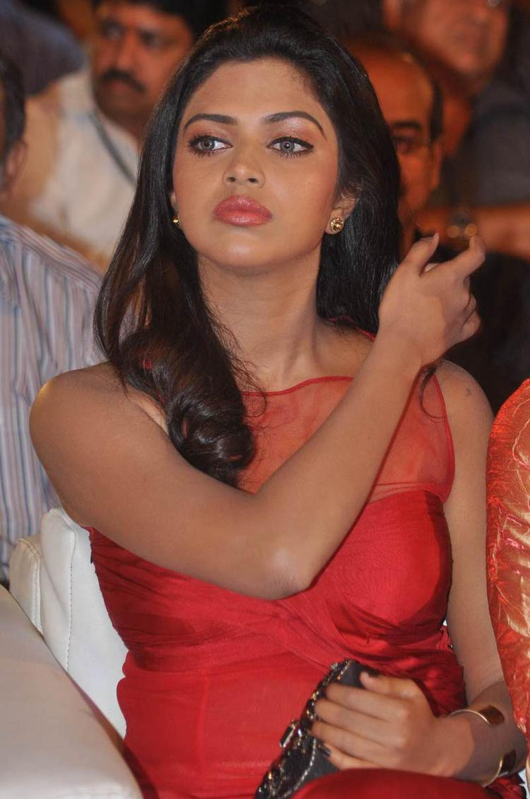 Amala Paul Looked Radiant And Beautiful Still At Naayak Audio Release Function