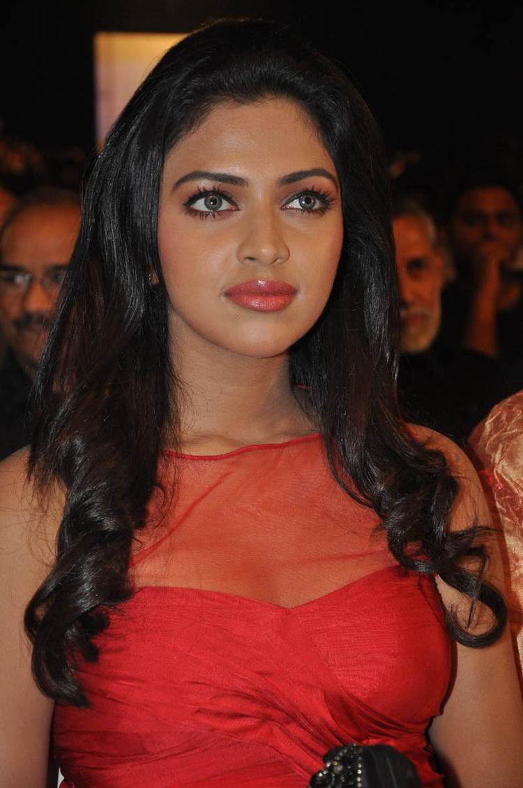 Amala Paul Snapped At Naayak Audio Release Function