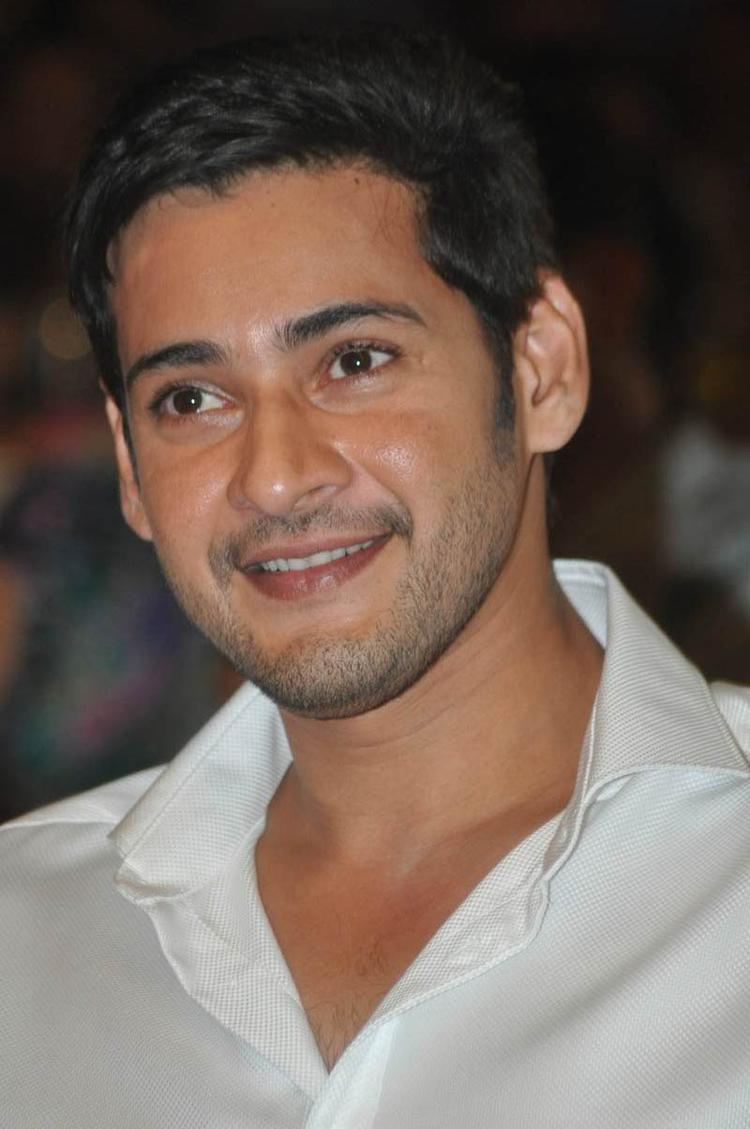 Mahesh Babu Smiling Still At SVSC Audio Release Function