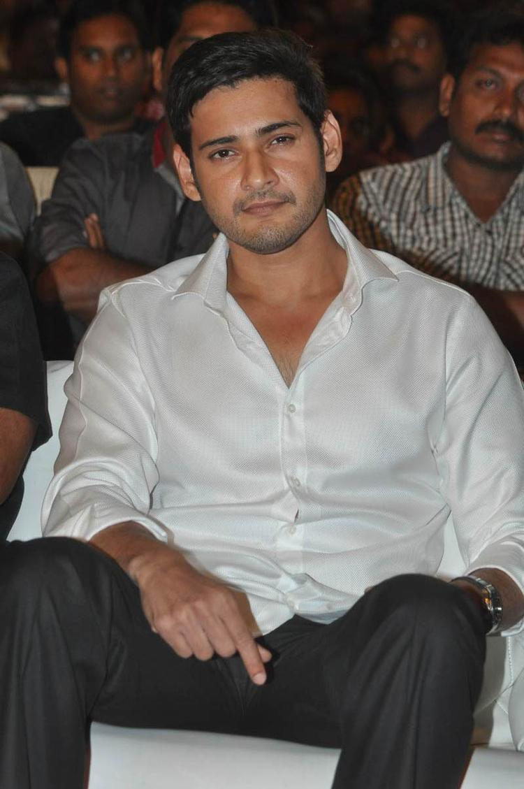 Mahesh Babu Spotted At SVSC Audio Release Function