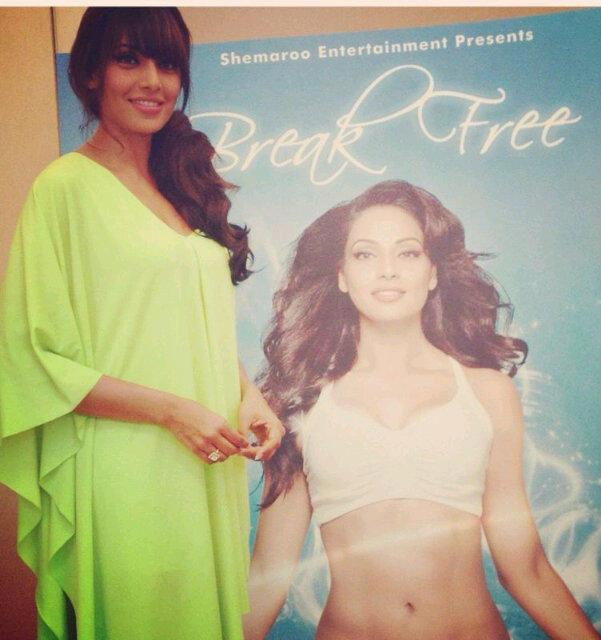Bipasha Basu Launches Her 2nd Fitness DVD Nmaed Break Free