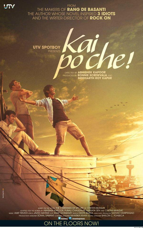 Sushant,Raj And Amit In Kai Po Che! Movie Wallpaper