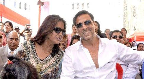 Akshay Kumar During The 10th Upper Crust Food And Wine Show 2012