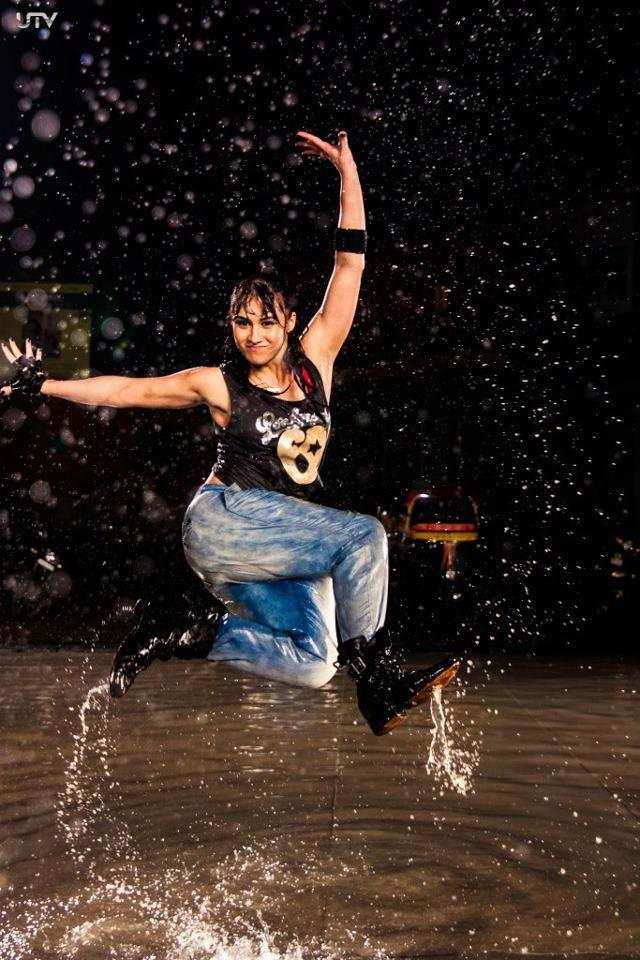 Noorin Sha Rocking Dance Performance Still On The Sets Of Movie ABCD