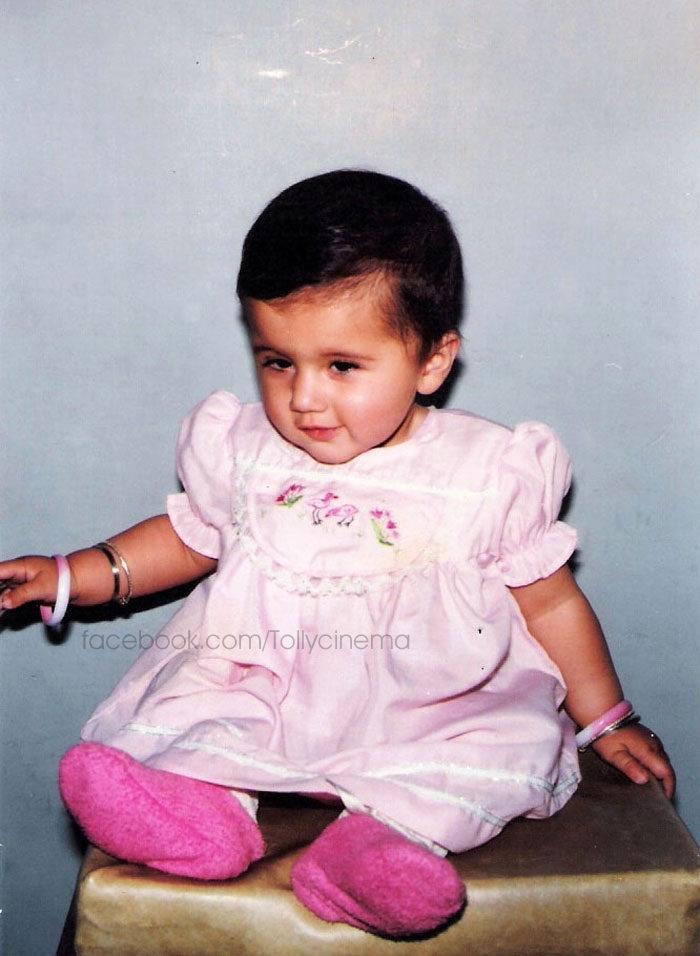 Taapsee Looking Cute In Childhood