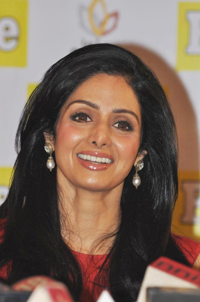 Sridevi Smiling Still At People Magazine Cover Launch