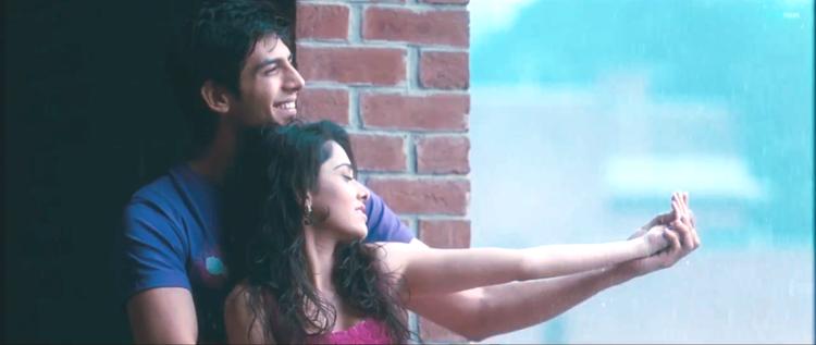 Kartik And Nushrat Cute Smiling Still Photo From Movie Akaash Vani