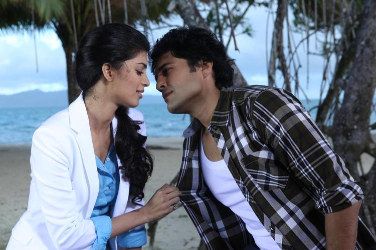 Tena And Rajeev Spicy Photo Still From Movie Table No. 21