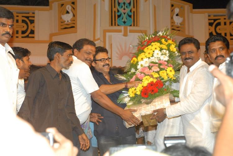 Celebs Are Graced At SVSC Audio Release Function